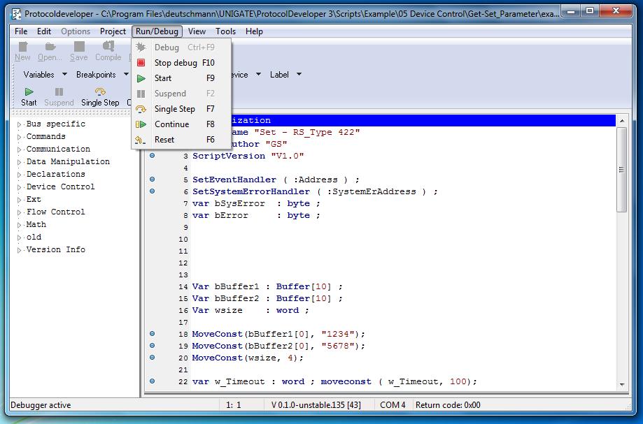 Protocol Developer - Die Deutschmann Script-Sprache